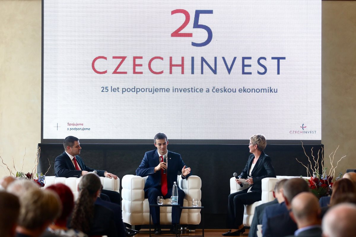 CzechInvest celebrates its 25th anniversary
